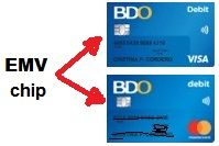 BDO ATM debit card