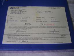 Time Deposit certificate